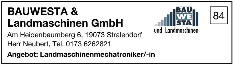Bauwesta & Landmaschinen GmbH