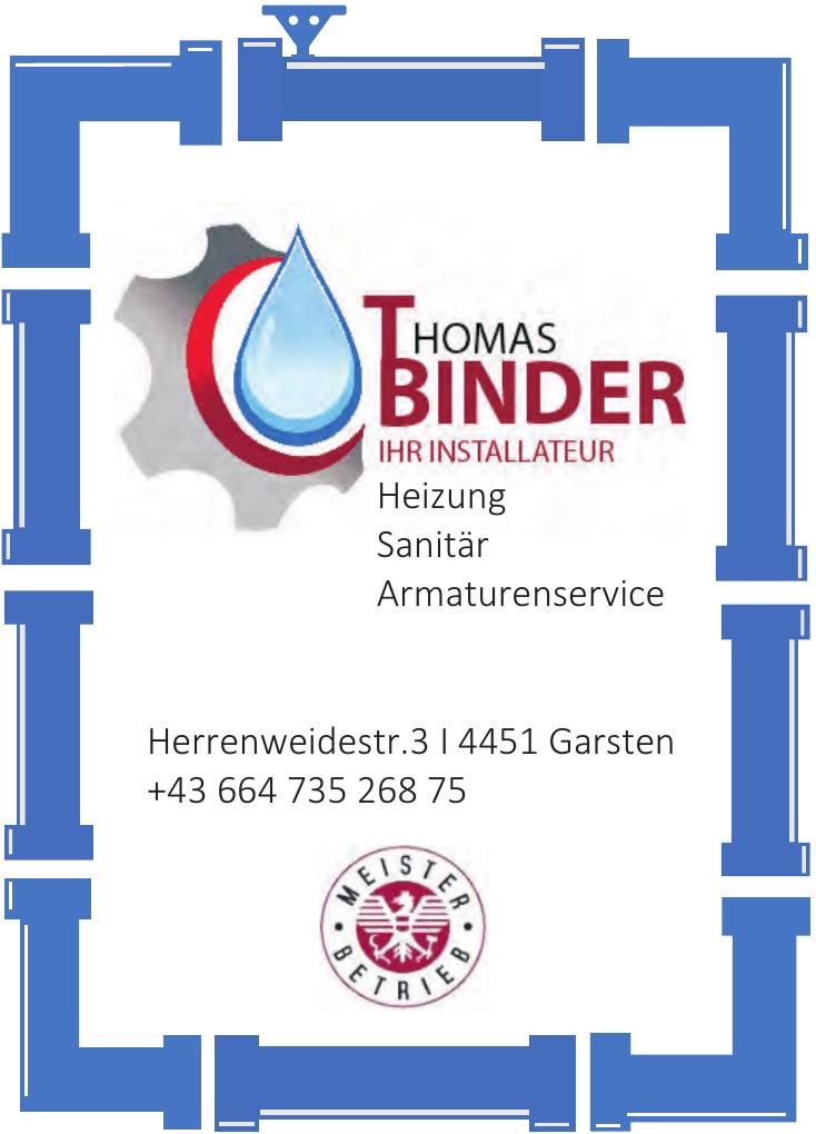 Thomas Binder – Ihr Installateur