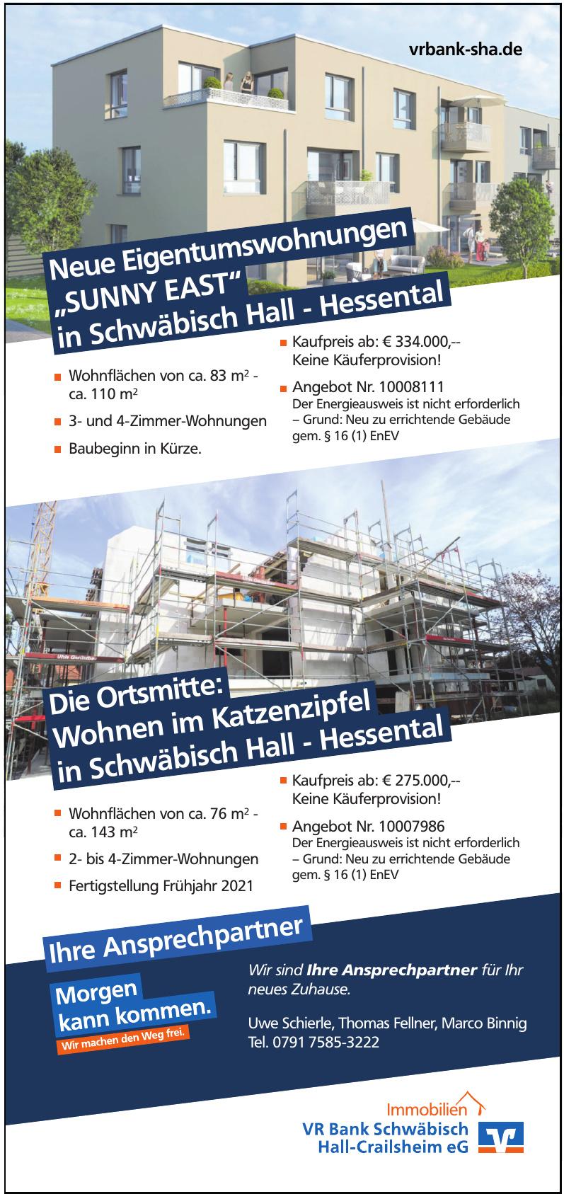 VR Bank Schwäbisch Hall-Grailsheim eG