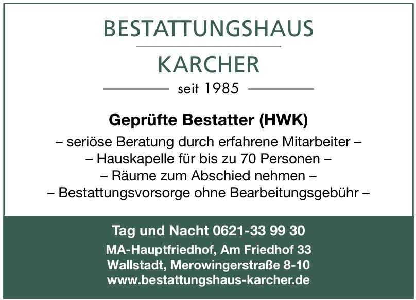 Bestattungshaus Karcher GmbH