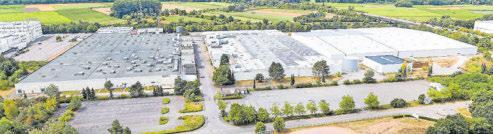 Die DEUBA GmbH & Co. KG auf dem früheren Firmengelände des Drahtcord-Werkes im Gewerbegebiet Siebend in Merzig. Foto: DEUBA