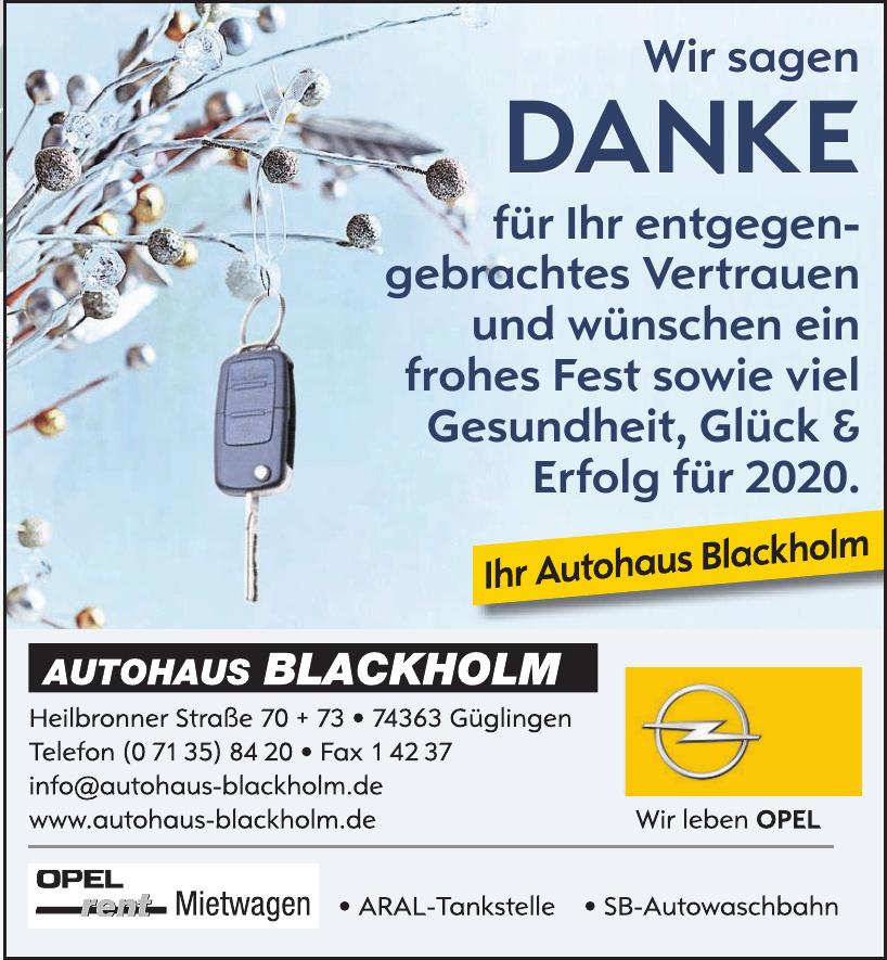 Autohaus Blackholm