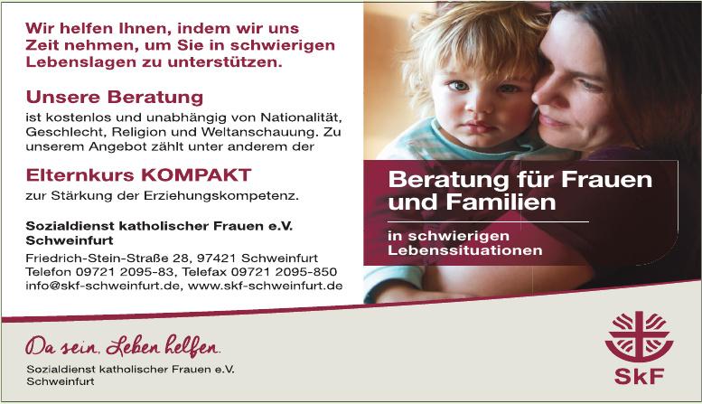 Sozialdienst katholischer Frauen e.V. Schweinfurt