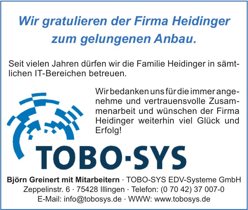 TOBO-SYS EDV-Systeme GmbH