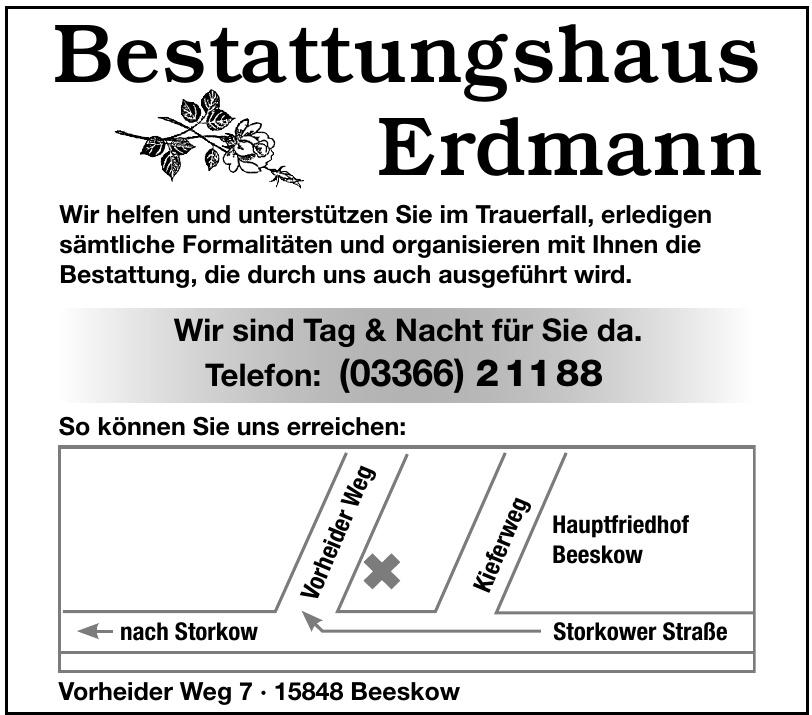 Bestattungshaus Erdmann