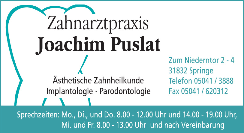 Zahnarztpraxis Joachim Puslat