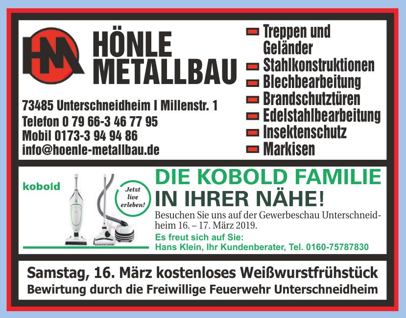 Halle Hönle Metallbau