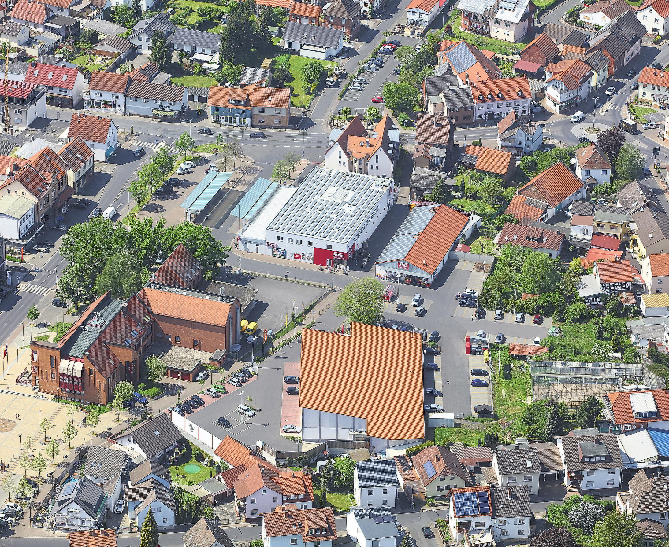 Das Seniorenzentrum auf dem Gelände der ehemaligen Lederfabrik in Bernbach nimmt bereits deutlich Gestalt an.