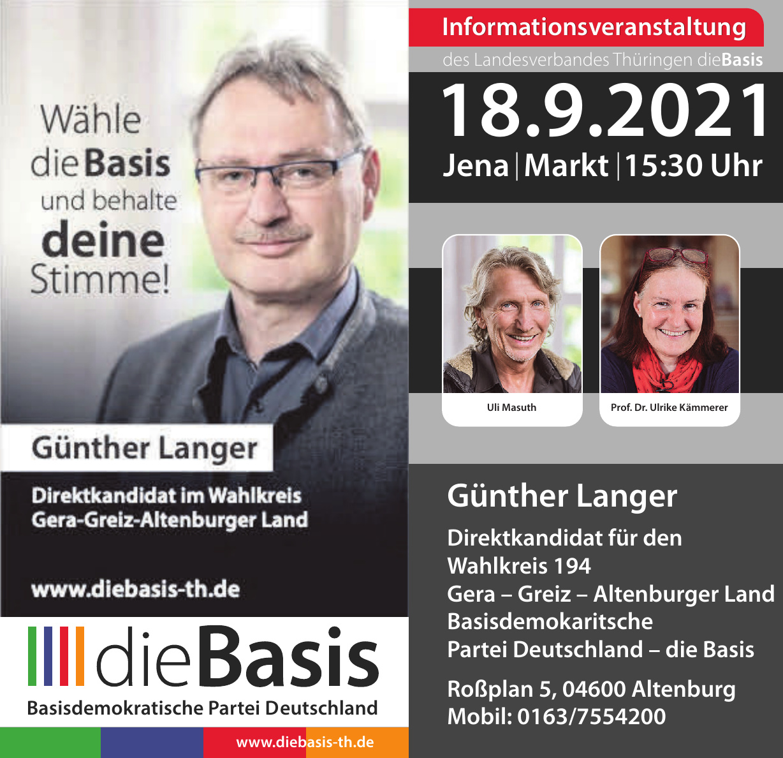 die Basis - Günther Langer