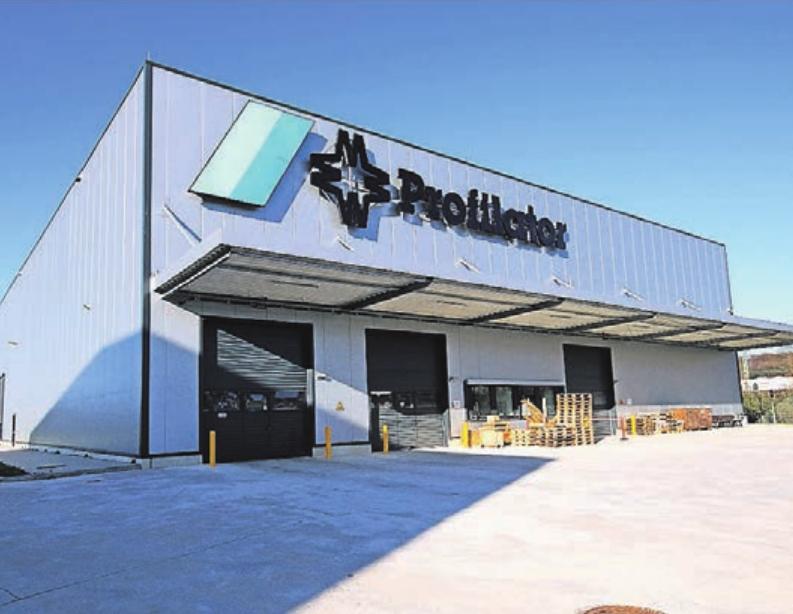 Auch das Maschinenbauunternehmen Profilator hat sich im neuen Gewerbegebiet VohRang angesiedelt.