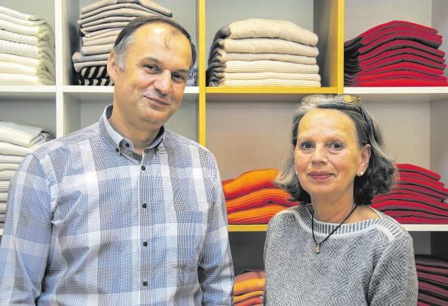 Jörg Martin Düffert und Ilse Seidlberger sind seit sieben Jahren ein eingespieltes Team. FOTO: VMN