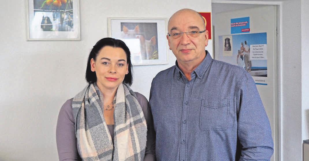 Ellen Seidl und Rainer Deutschmann von der Kreishandwerkerschaft Havelland sind positiv gestimmt. Foto: Jessica Kliem