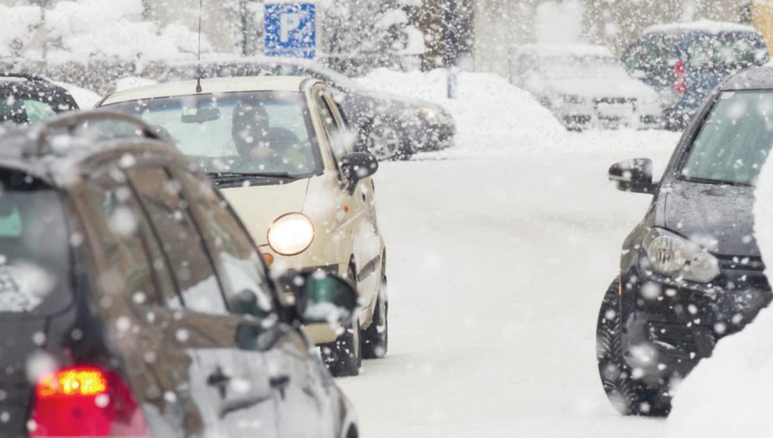 Schnee ist keine Entschuldigung zu spät zur Arbeit zu kommen Fotos:fotolia