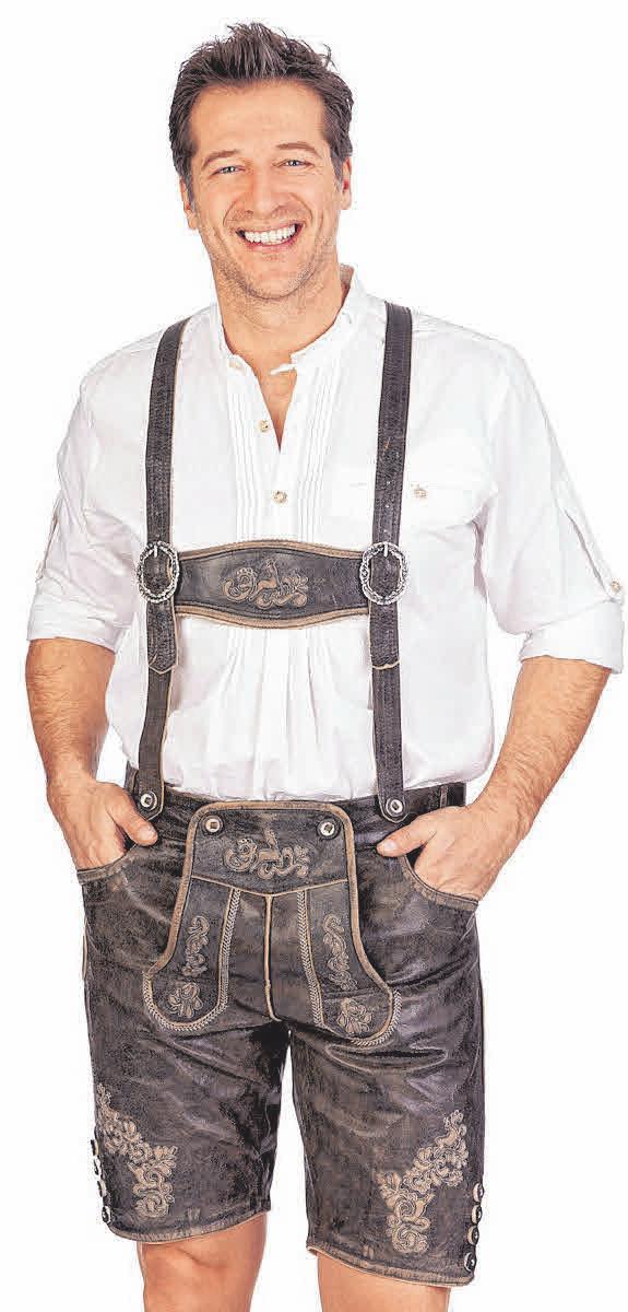 c1aadf57c1b273 Zünftig wird's: Der Mann von Heute geht in Lederhosen zum Feiern - egal ob  Oktoberfest