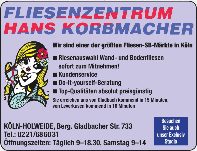 Fliesenzentrum Hans Korbmacher