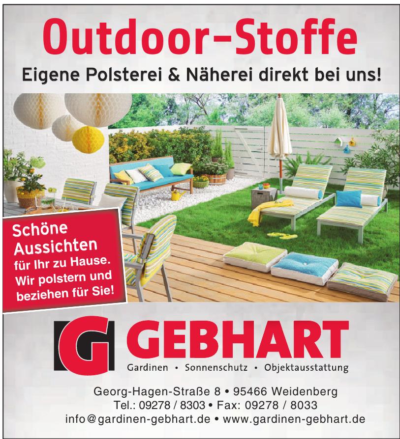 Gebhart - Plissee Sonnen- und Hitzeschutz