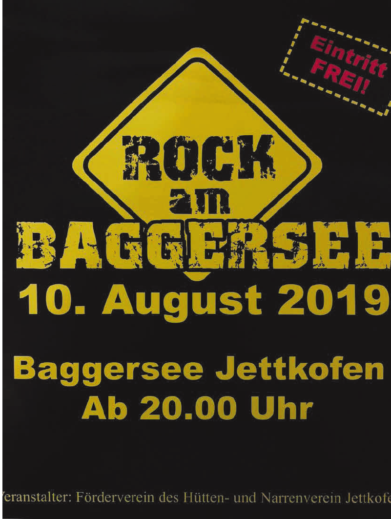 Rock am Baggersee
