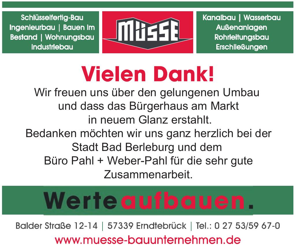 Bauunternehmen Friedrich Müsse GmbH & Co. KG
