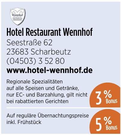Hotel Restaurant Wennhof