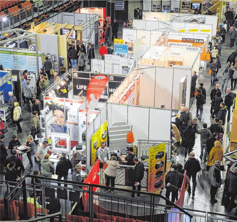 Über 100 Unternehmen stellen ihre Produkte und Dienstleistungen vor. Fotos: PR