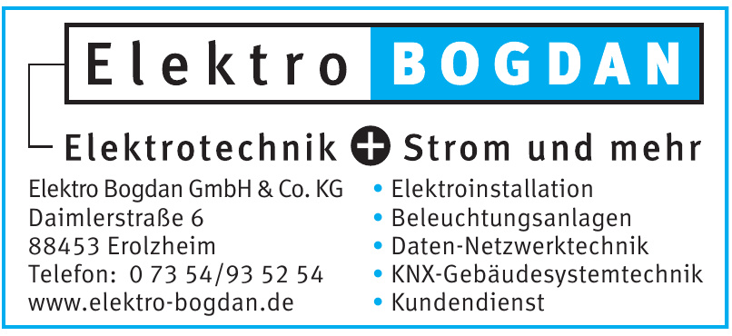 Elektro Bogdan GmbH & Co. KG