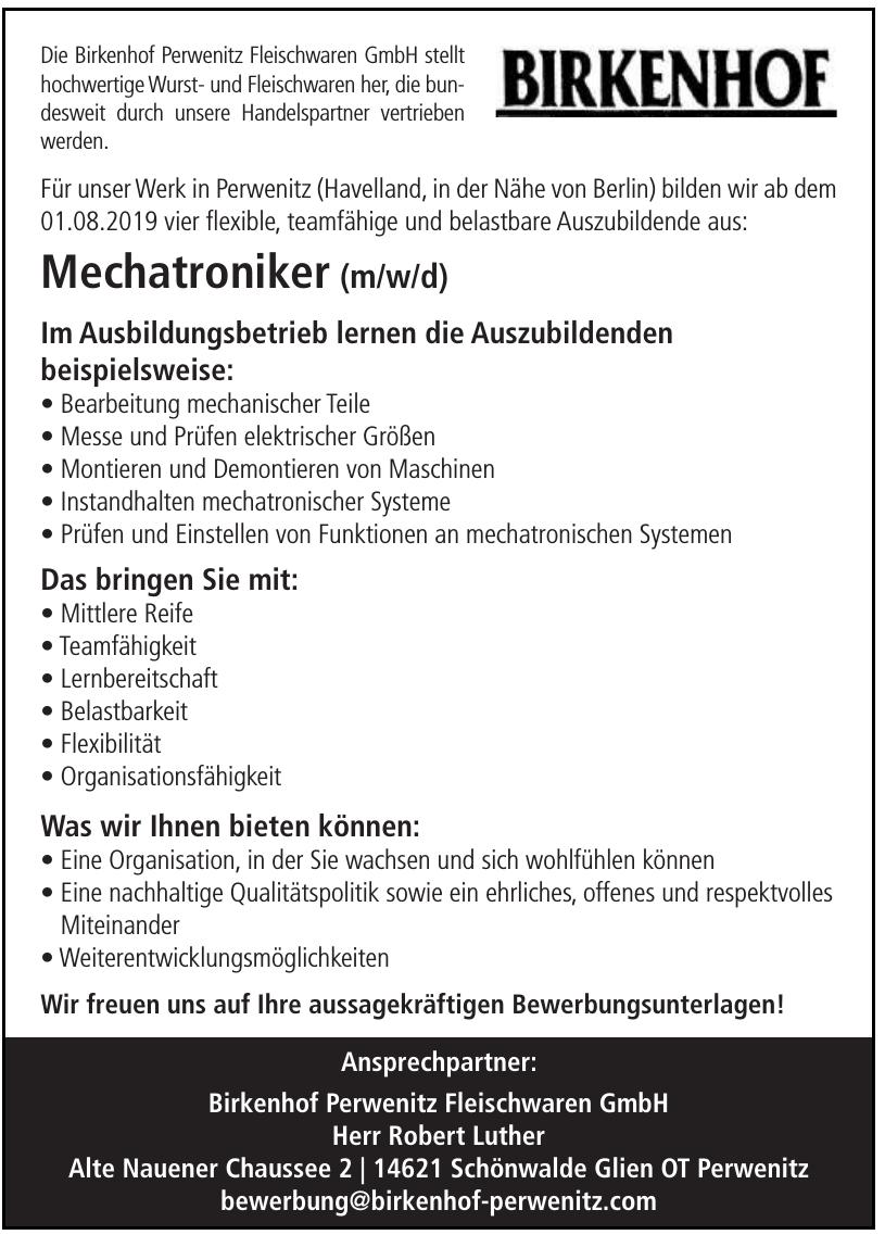 Birkenhof Perwenitz Fleischwaren GmbH