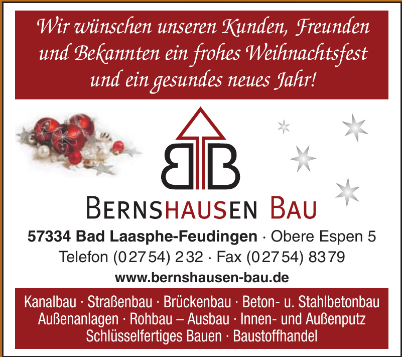 Bernshausen-Bau