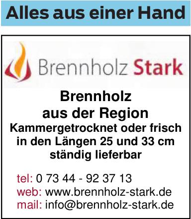 Brennholz Stark