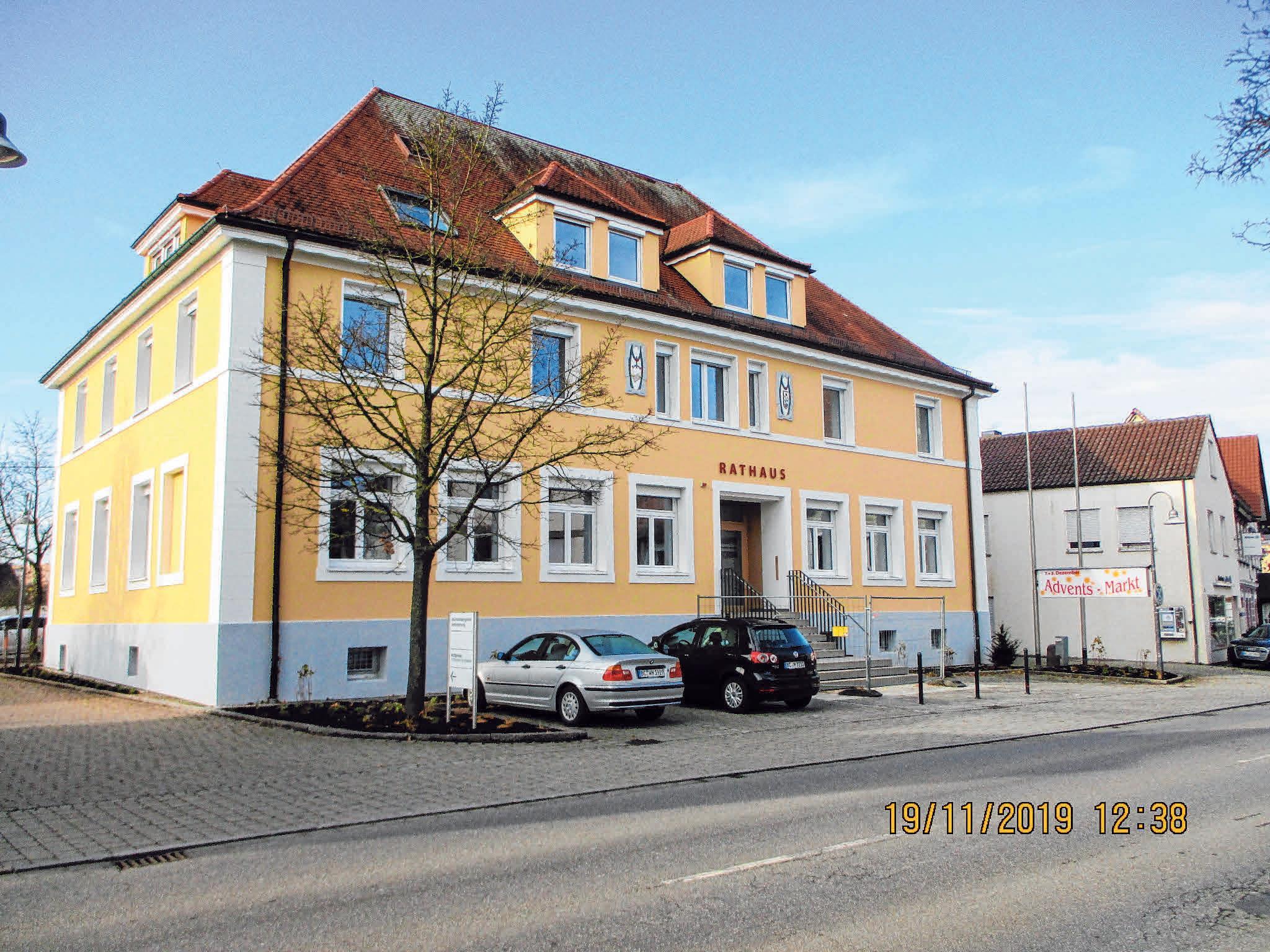 Beim Tag der offenen Tür ist auch das renovierte Rathaus dabei Image 1