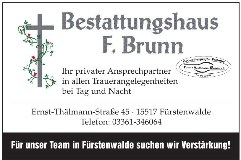 Bestattungshaus F. Brunn