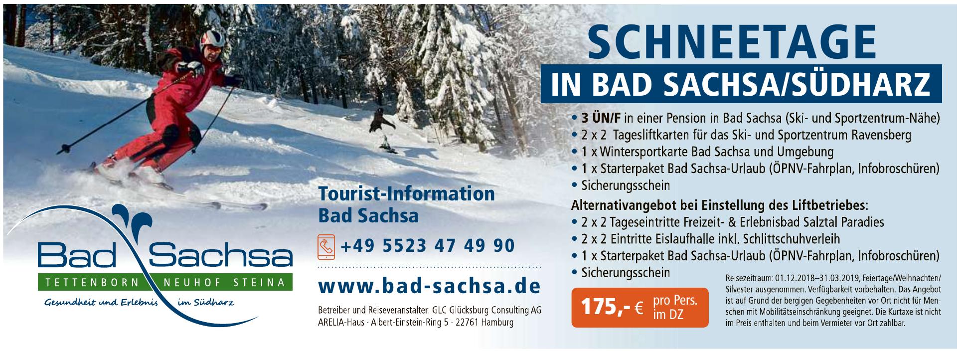 Tourist-Information Bad Sachsa