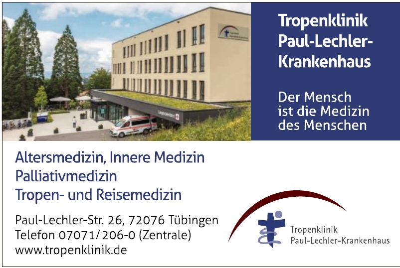 Tropenklinik Paul-Lechler-Krankenhaus gGmbH