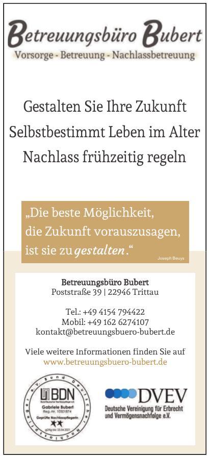 Betreuungsbüro Bubert