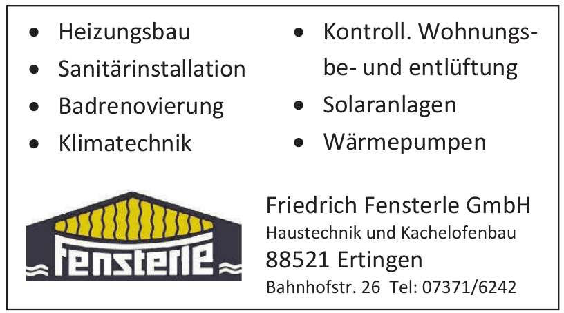 Friedrich Fensterle GmbH