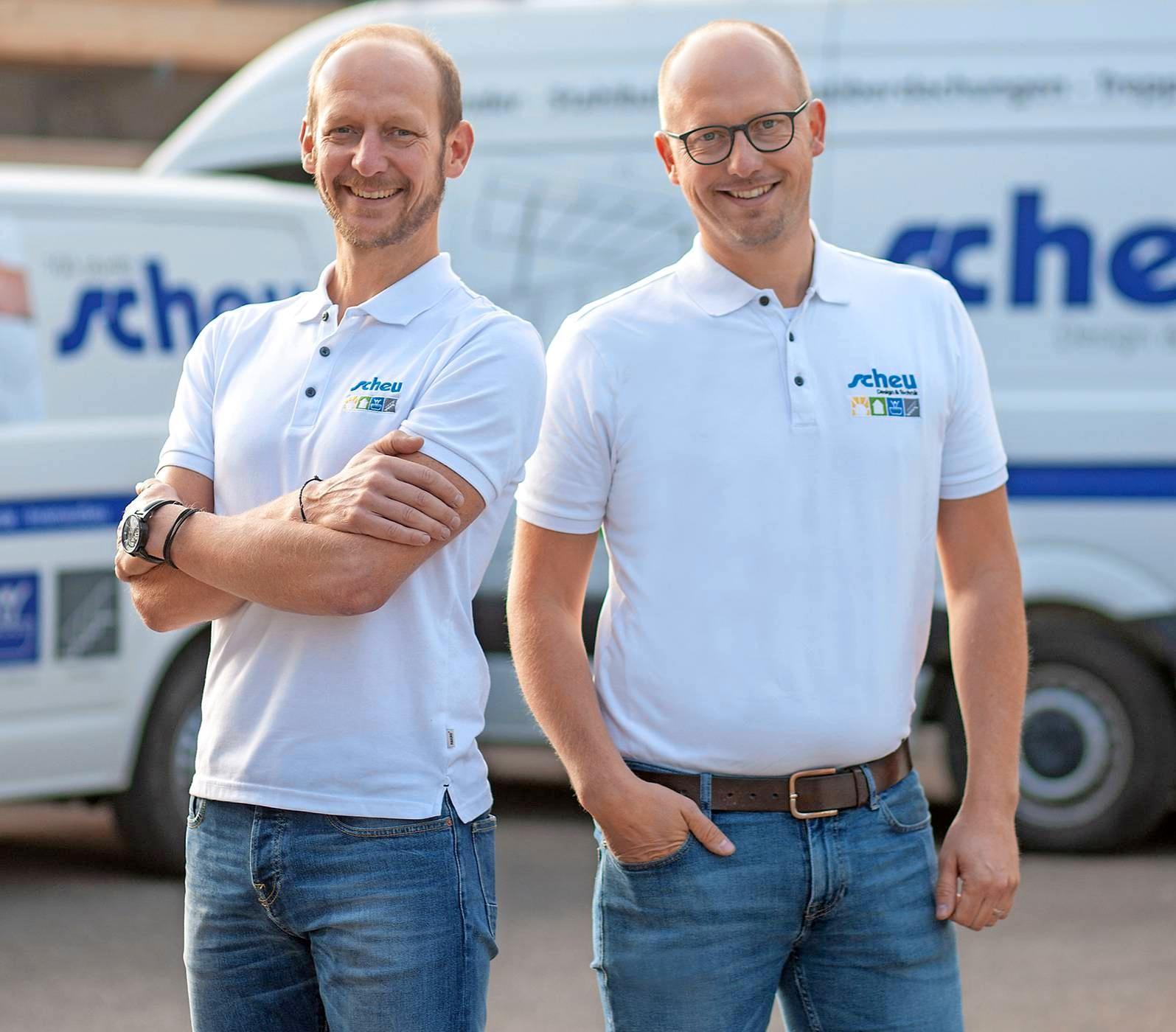 Mit Marco und Michael Scheu (v.l.) wird das Unternehmen inzwischen von der vierten Generation geleitet. Foto: privat