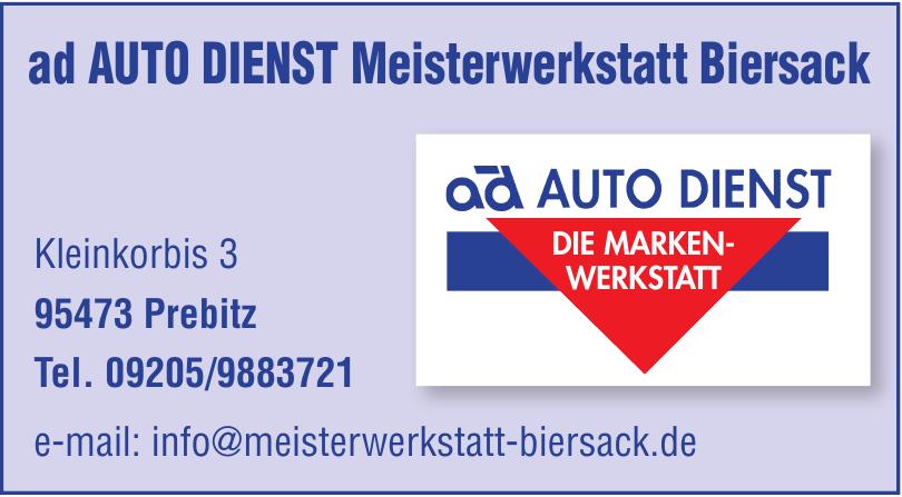 ad Auto Dienst Meisterwerkstatt Biersack