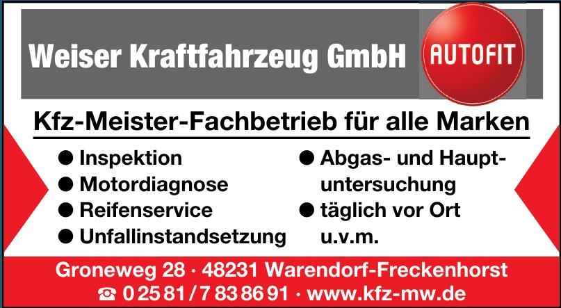 Weiser Kraftfahrzeug GmbH