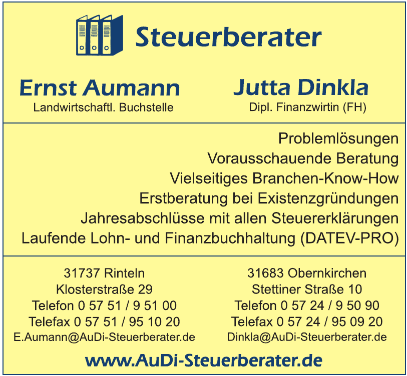 Steuerberater Ernst Aumann