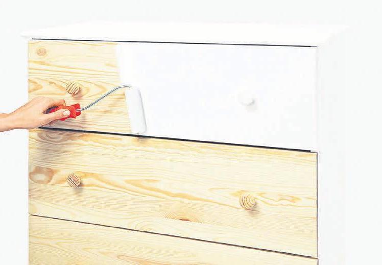 Das sogenannte Upcycling und Auffrischen gebrauchter Möbelstücke ist angesagt.