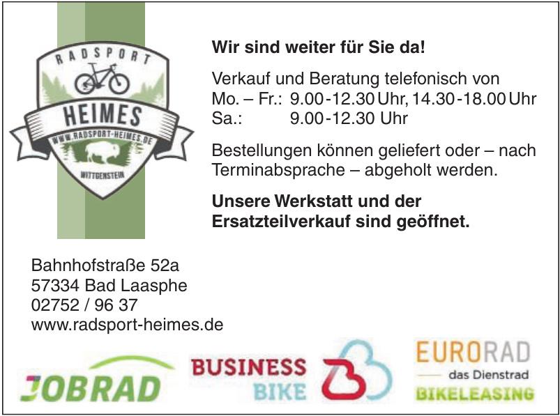 Radsport Heimes