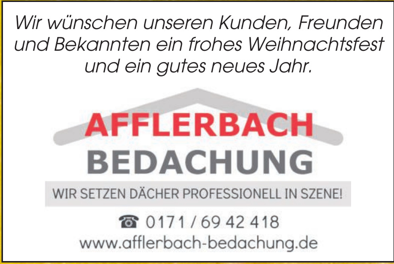 Afflerbach Bedachung