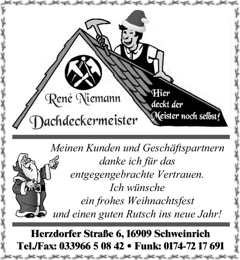 René Niemann Dachdeckermeister