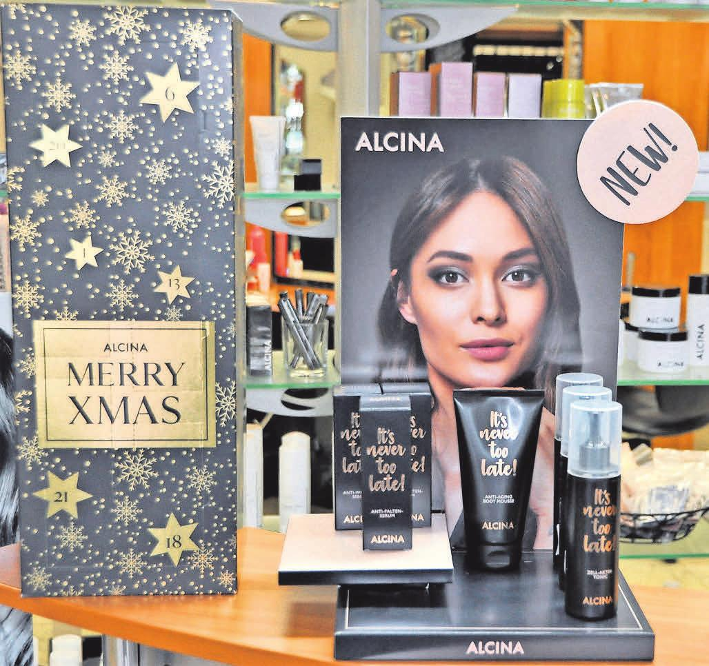 Nach wie vor eine hervorragende Produktserie: Alcina – auch perfekt als Weihnachtsgeschenk geeignet.