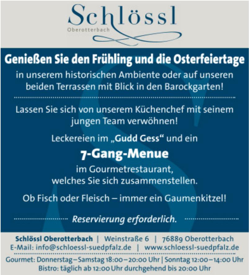 Schlössl Oberotterbach