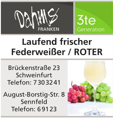 Weinladen - der Winzer Dahms