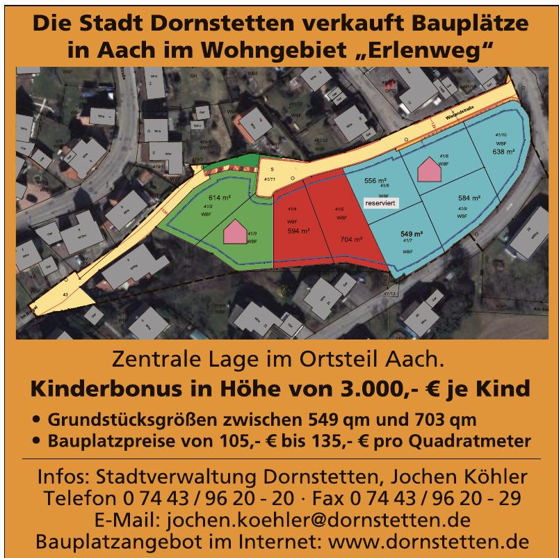 Stadtverwaltung Dornstetten