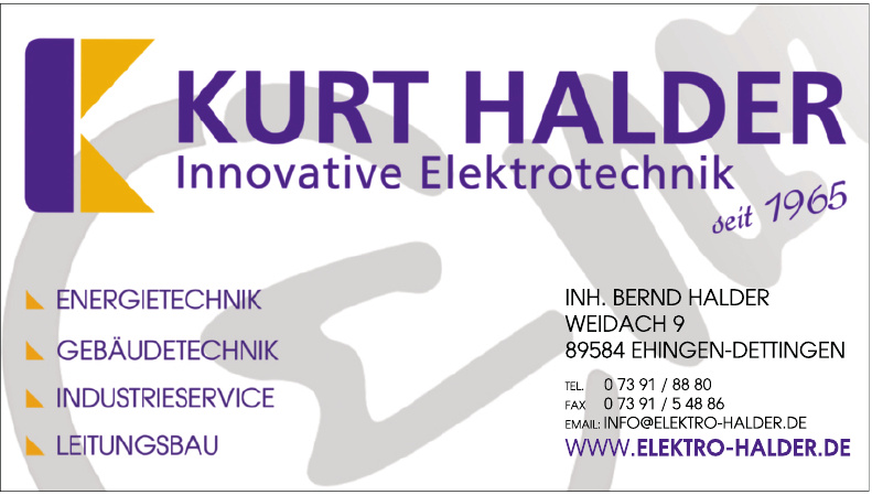 Kurt Halder Innovative Elektrotechnik