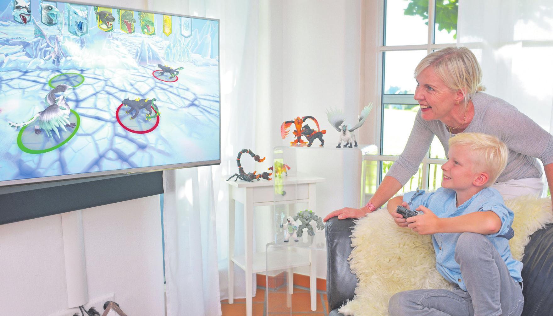 Fotos: djd/Pilot Pen, Bruder Spielwaren, Playmobil, Eldrador Creatures, winningmoves.de