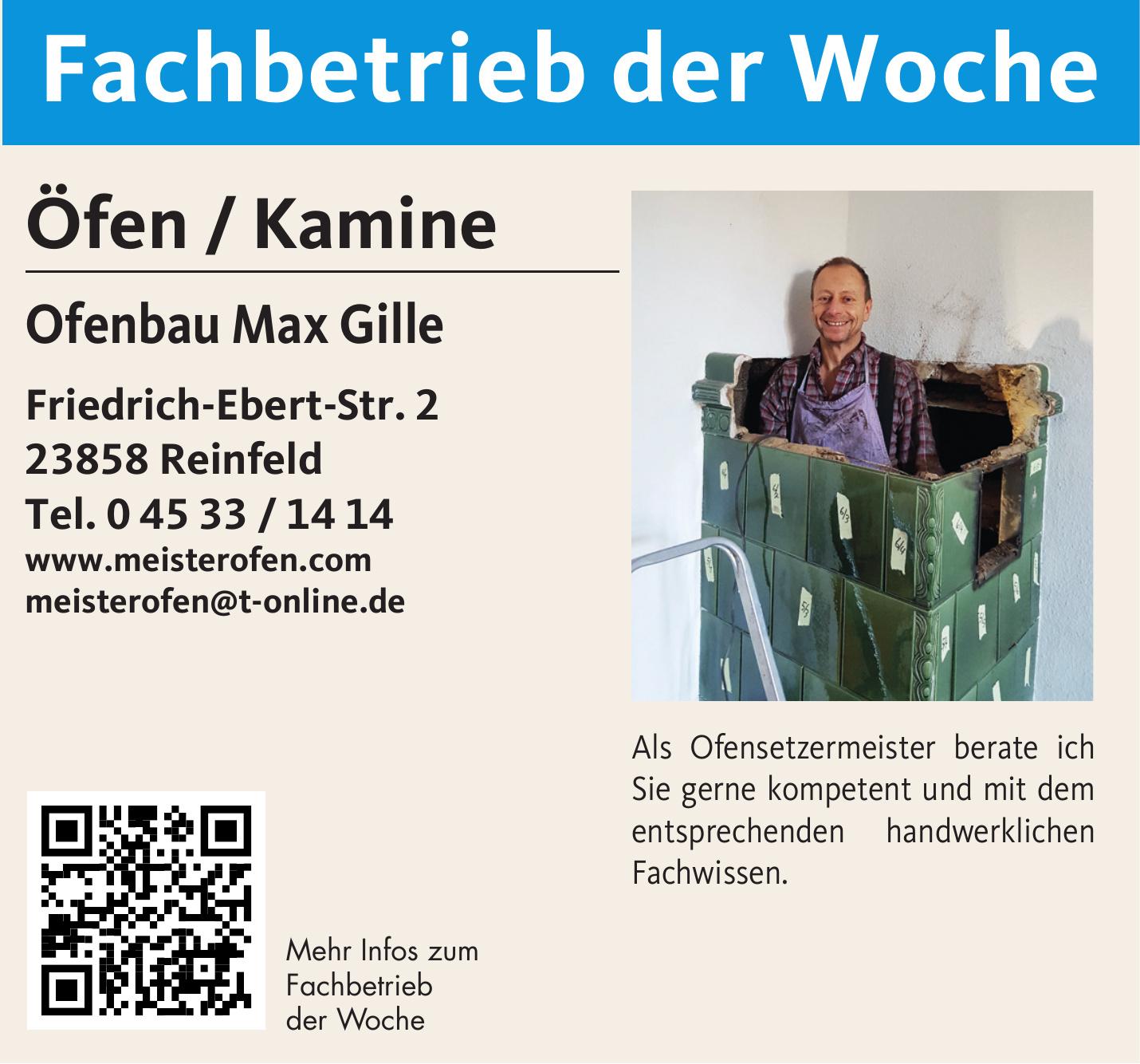 Ofenbau Max Gille