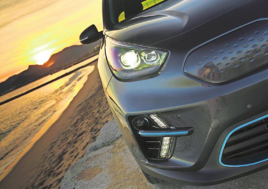 Das coole Crossover-Design macht den Niro zum erfolgreichen Wettbewerber im deutschen Hybridmarkt.